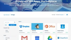 pipeliner CRM apps marketplace