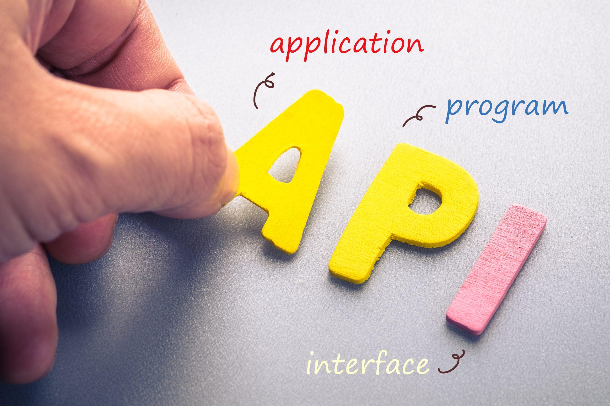 API definition shutterstock 336768380